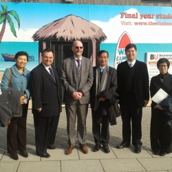Bournemouth University Thailand Visit