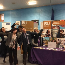 Bournemouth University fly Open Day