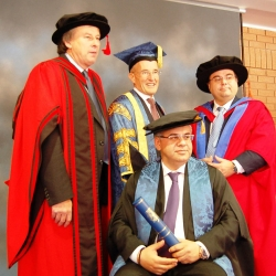 Buhalis and John Kent Honorary Graduate
