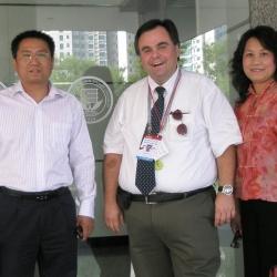 BISU Beijing International Studies University  with Grace Huimin  Gu and Tony Zou