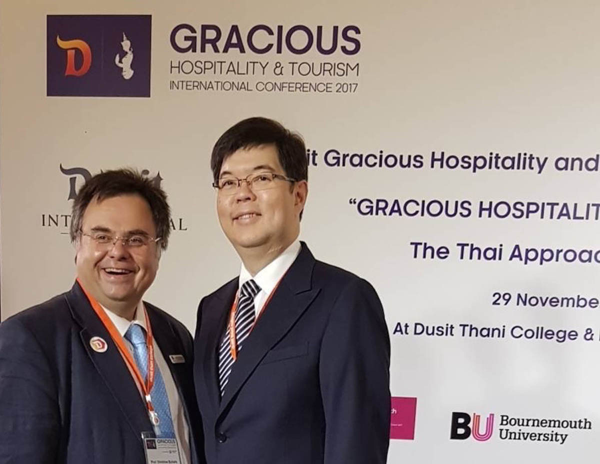____ Dimitrios Buhalis and Sarote Phornprapha President at Dusit Thani
