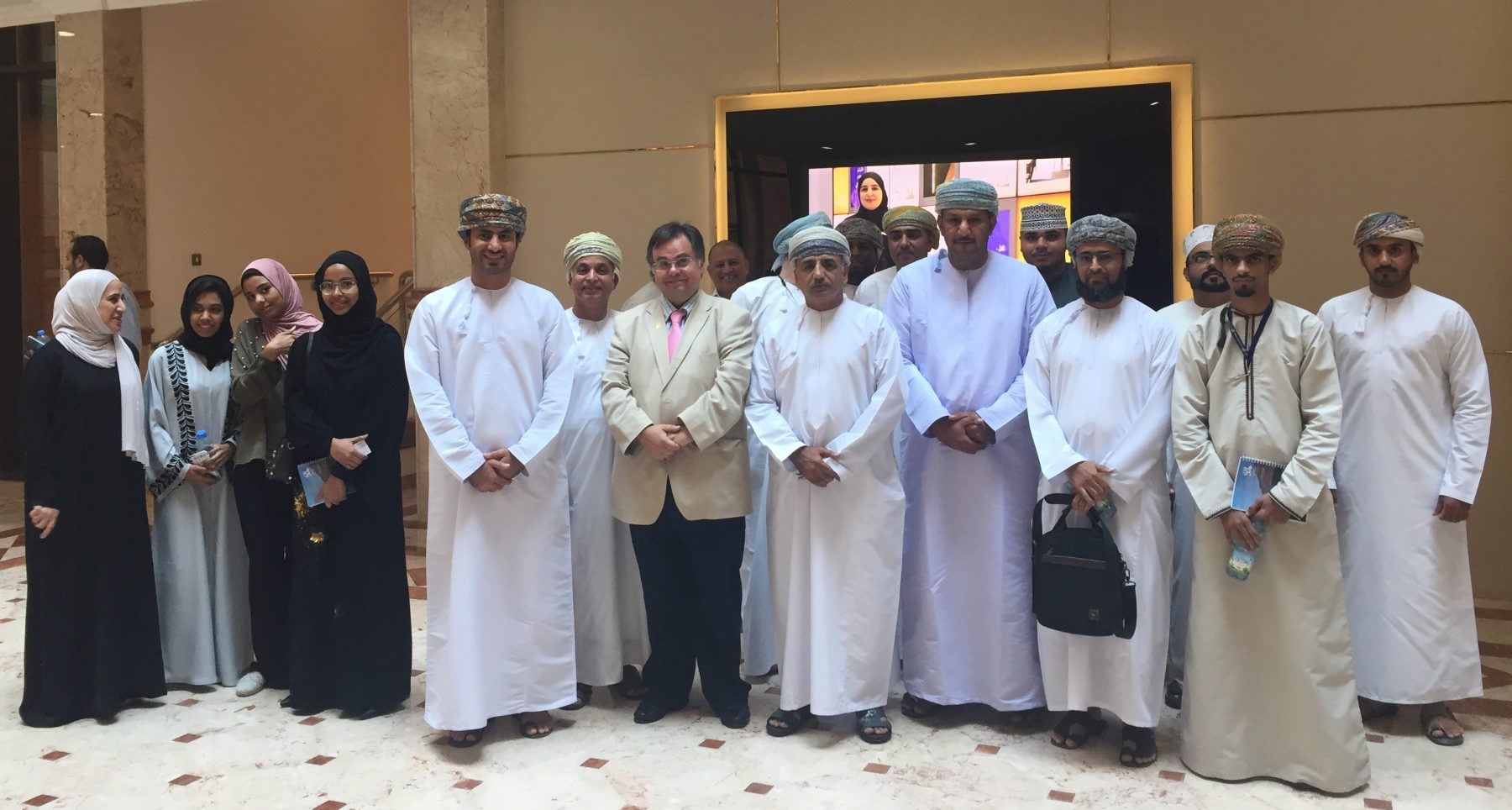 Professor Dimitrios Buhalis at the Ministry of Tourism, Sultanate of Oman